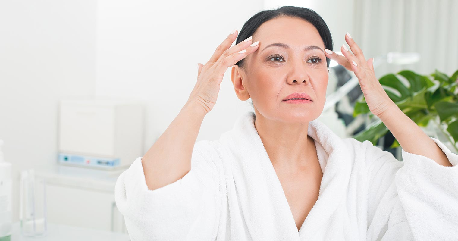 Preventing wrinkles in old age