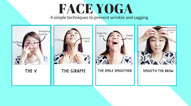 face yoga to prevent wrinkle and sagging