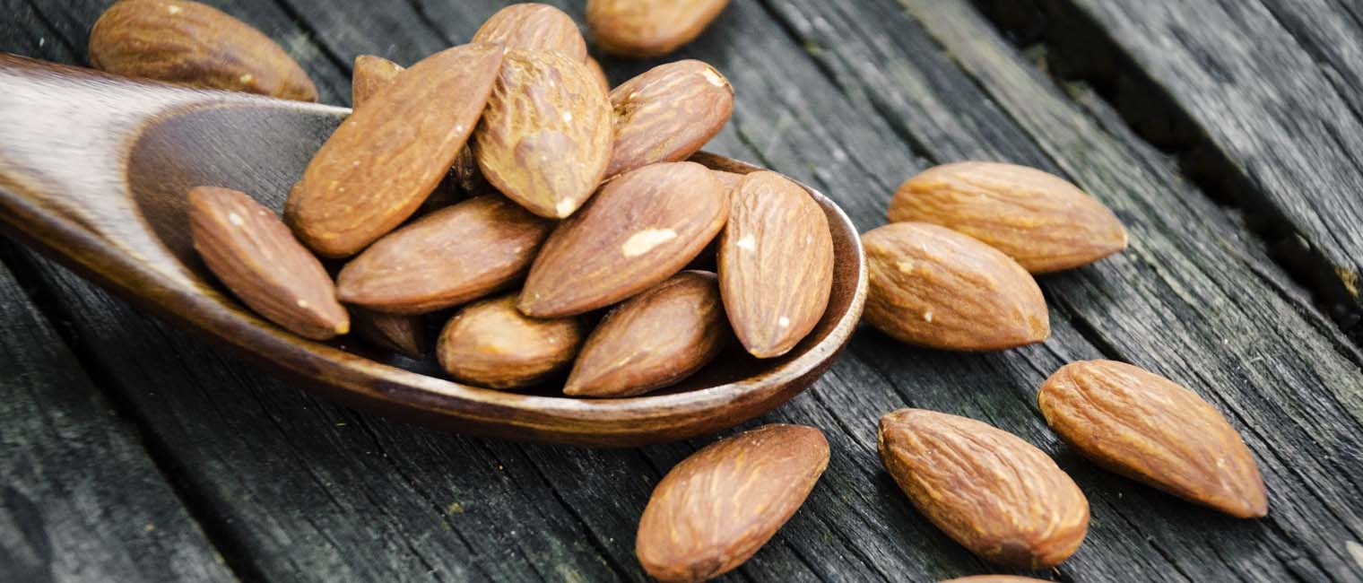 Sweet almond treats dry and eczema skin