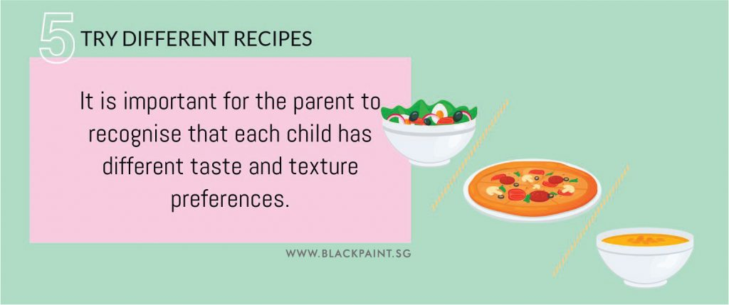 how to make my child like vegetables step 5 try using different recipes