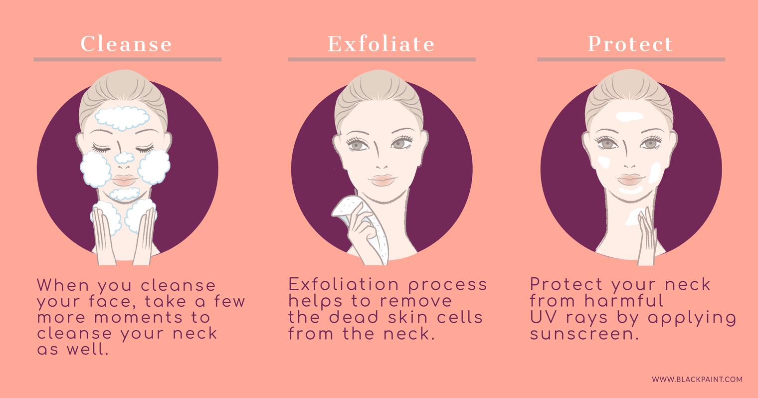 Easy basic methods to prevent neck wrinkles