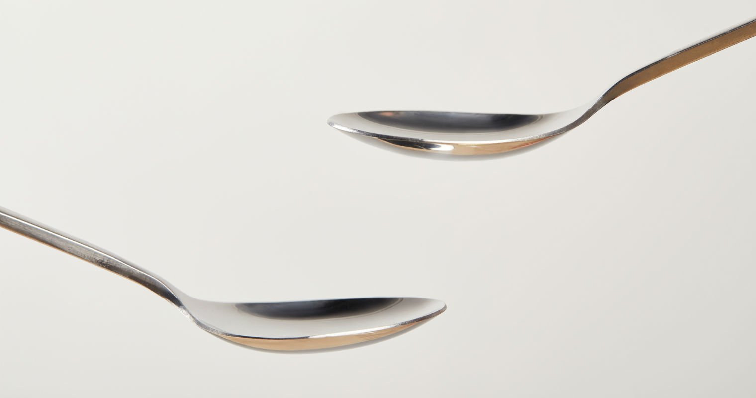 Using a cold spoon can relief under eye bags, and reduce puffiness