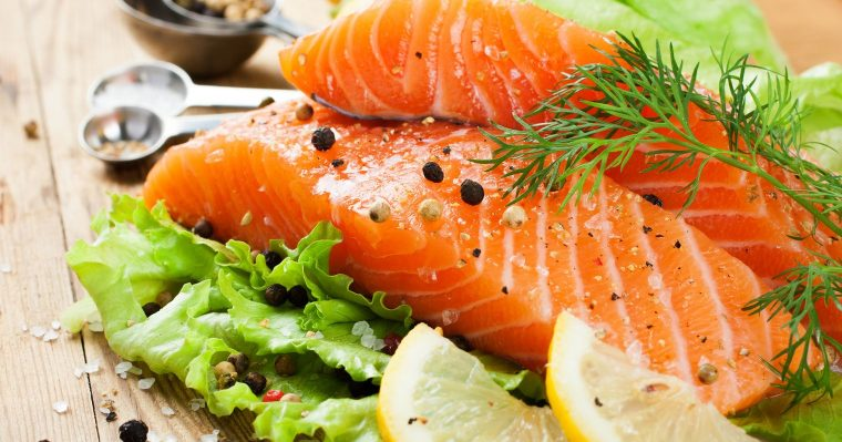 salmon omega oils and nuts