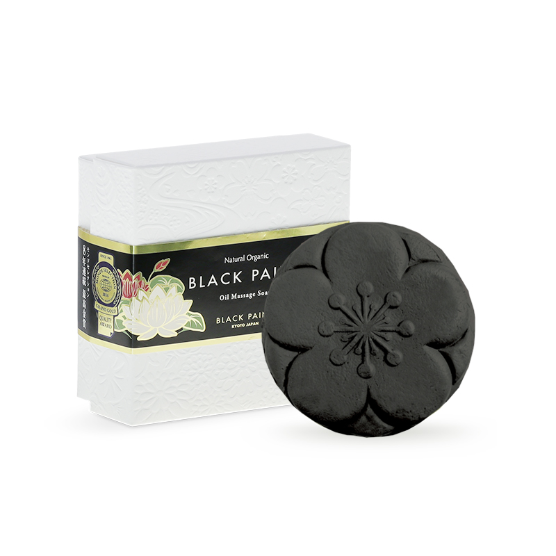BLACK PAINT SOAP with Probiotics 120g