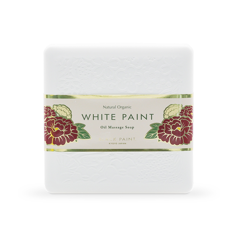 WHITE PAINT SOAP with Probiotics 60g (front)