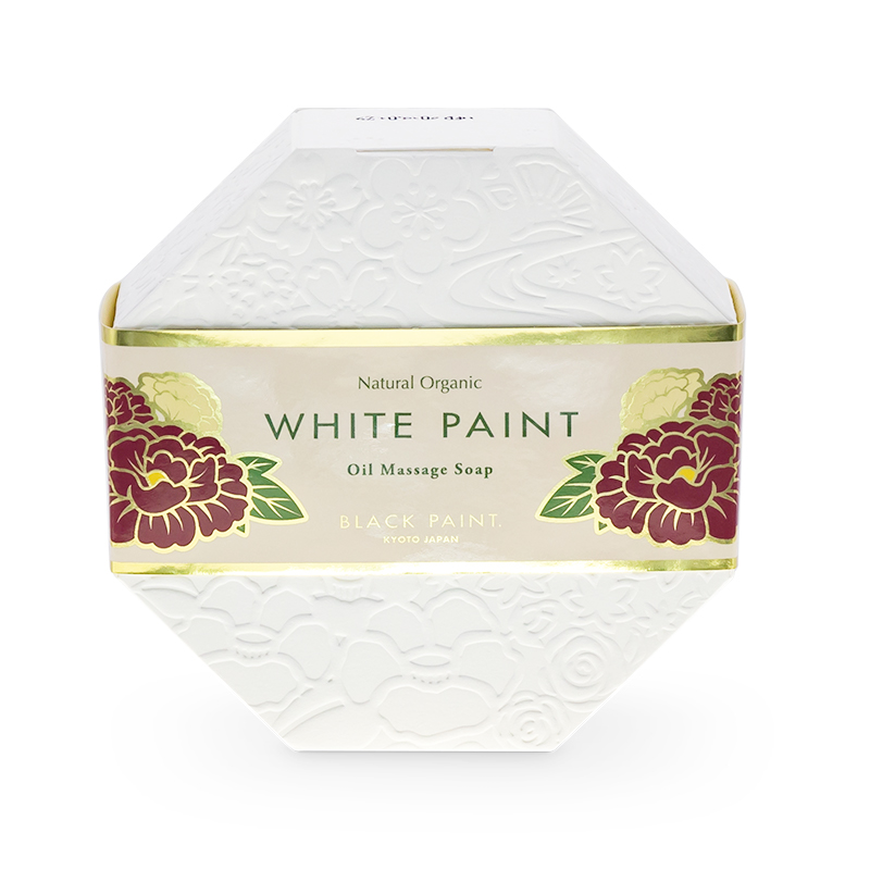 WHITE PAINT SOAP with Probiotics 120g (front)