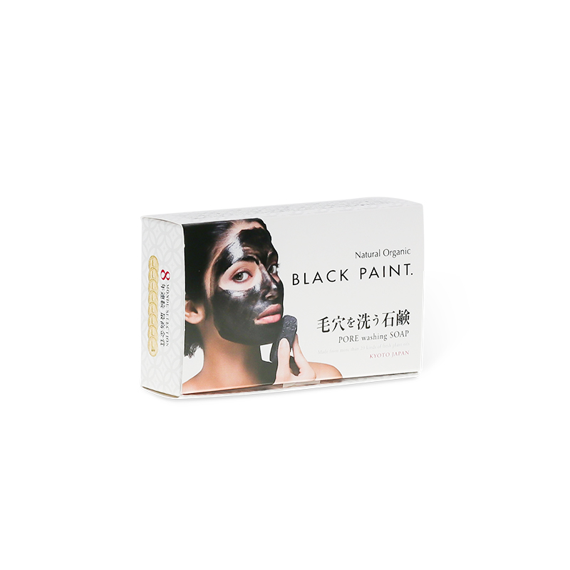 BLACK PAINT SOAP with Probiotics 20g