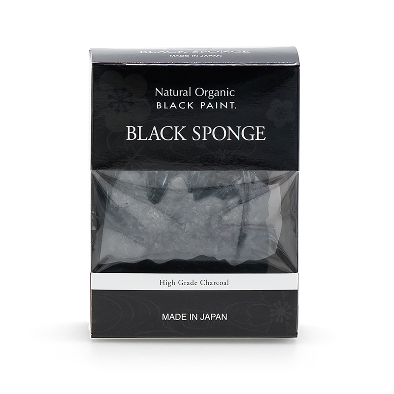 BLACK KONJAC SPONGE Regular Size (box front)