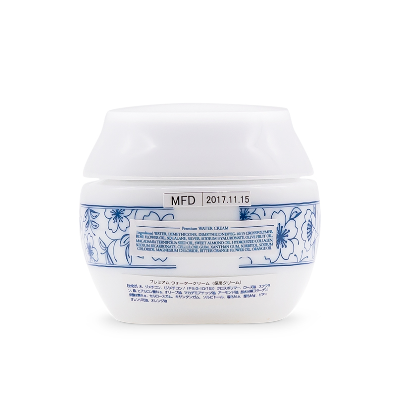 WATER CREAM PREMIUM 45g (back)