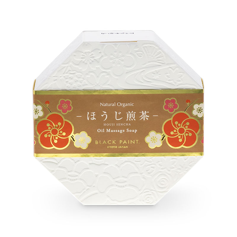 HOUJISENCHA TEA SOAP 120g (front)