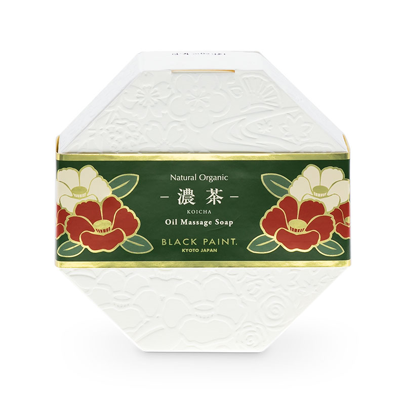 KOICHA TEA SOAP 120g (FRONT)
