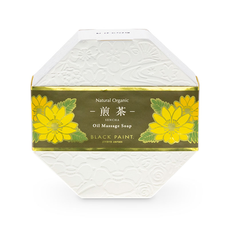 SENCHA TEA SOAP 120g (front)