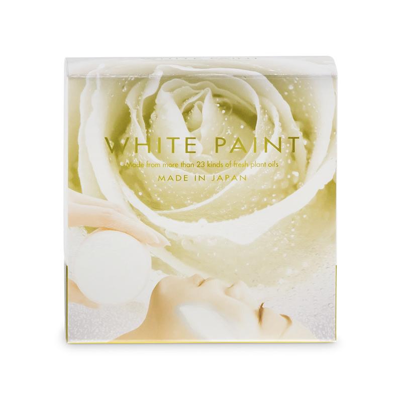 WHITE PAINT SOAP 120g (front)