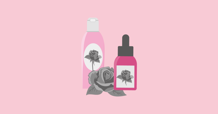 benefits of using rose oil and rose water