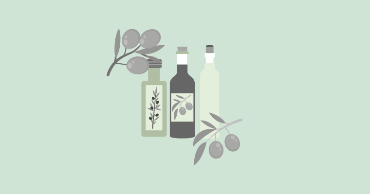 featured photo for olive oil infographic