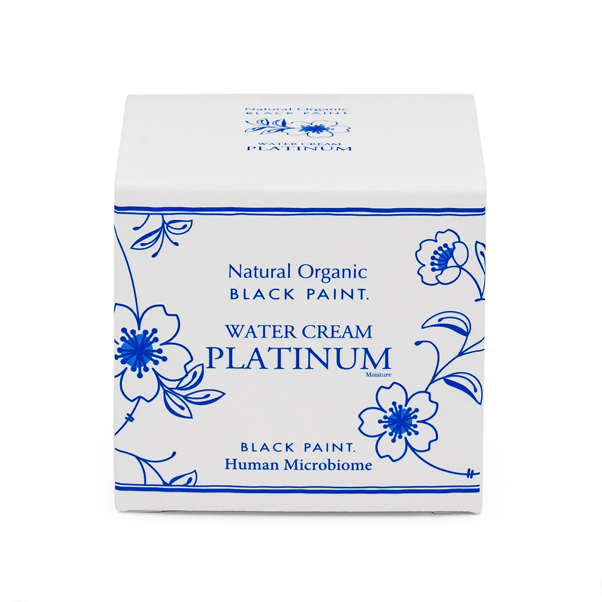 Water Cream Platinum 100g with Human Microbiome - box front