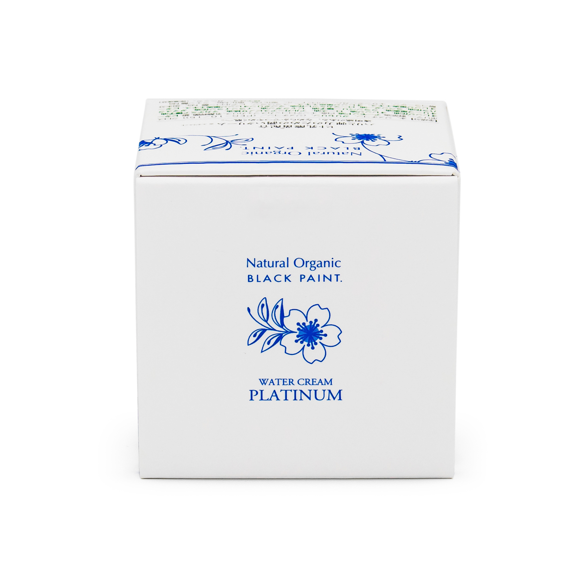 Water Cream Platinum 25g with Human Microbiome - box top