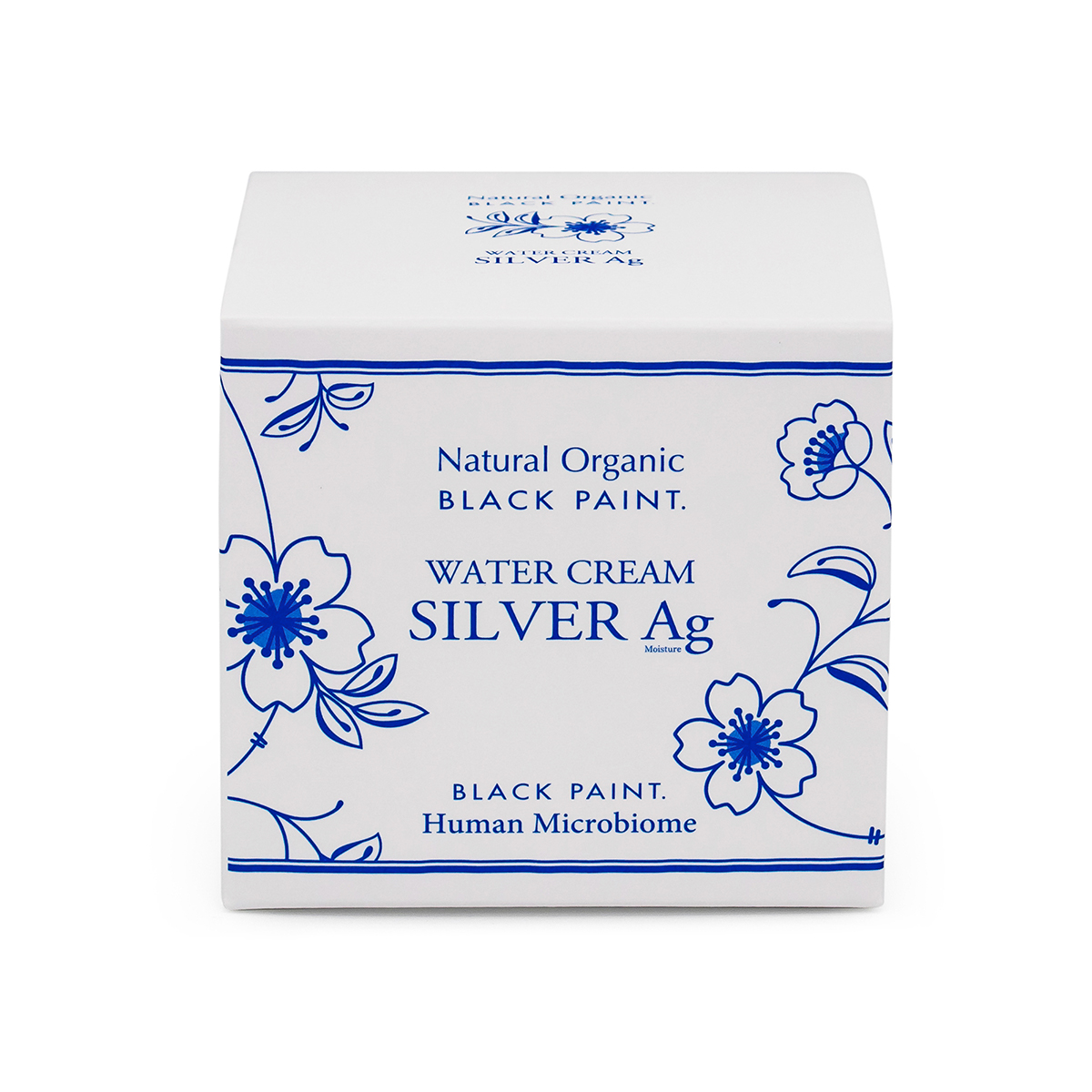 Water Cream Silver 100g with Human Microbiome - box front