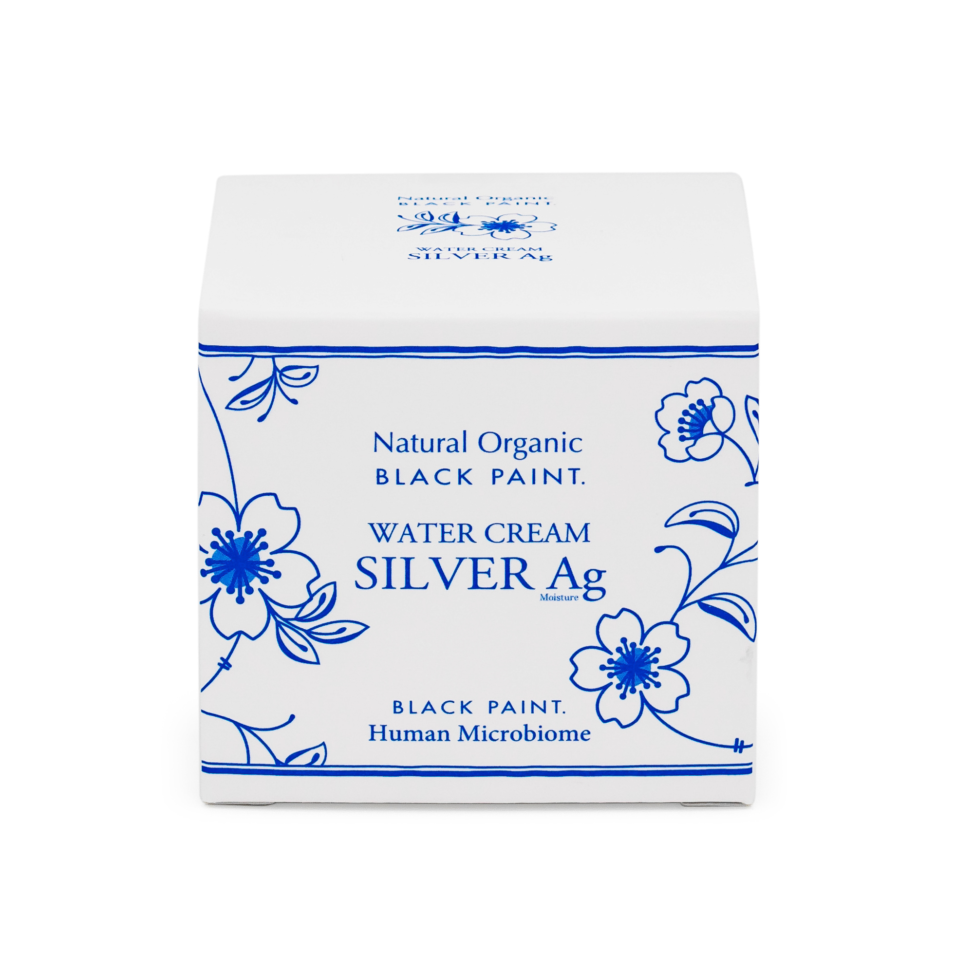 Water Cream Silver 25g with Human Microbiome - box front