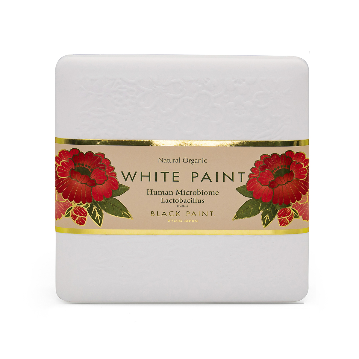 White Paint Soap 60g with Human Microbiome - front